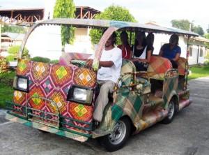 Bamboe-taxi