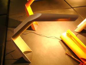 Papieren lamp nieuwe stijl